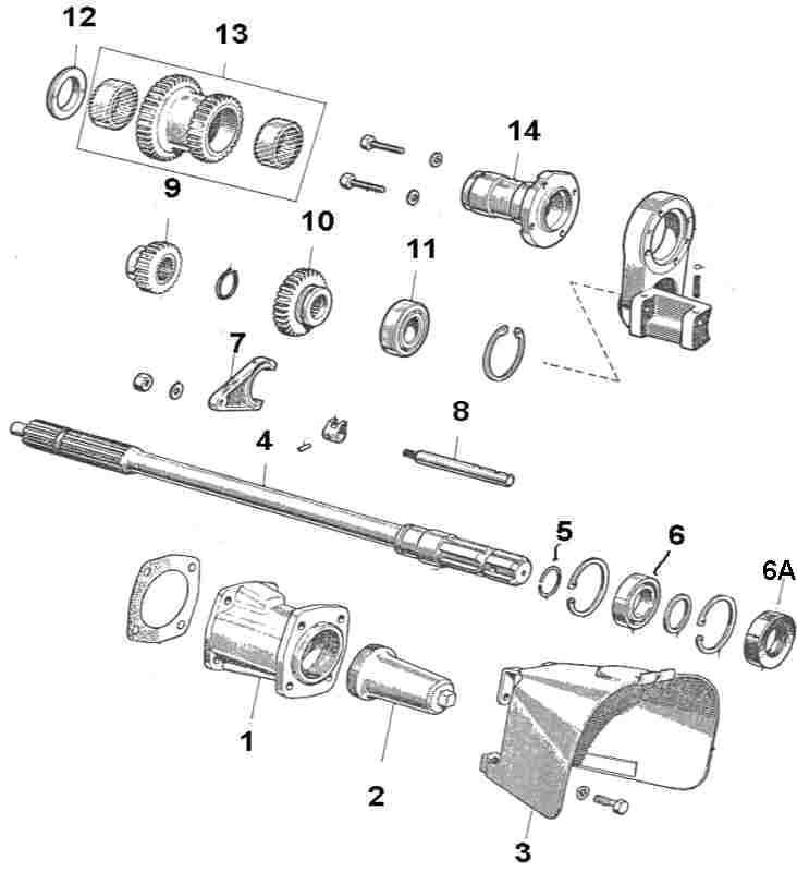 mack differential diagram