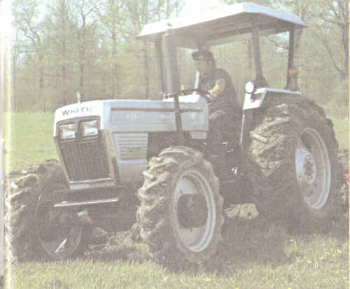 White Tractor Rims : Your white tractor parts source
