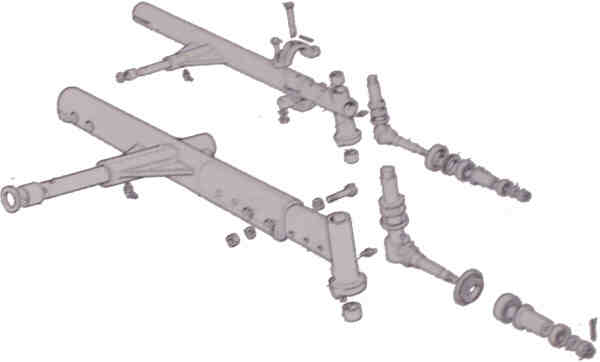 Fiat Tractor Spindles : Heavy duty wd front axles